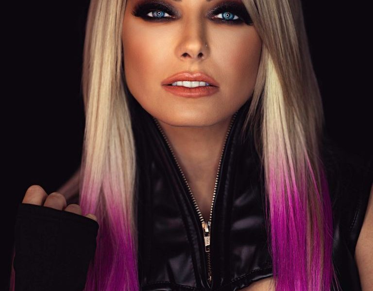 Alexa Bliss WWE Undertaker Photoshoot (2)
