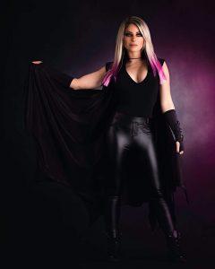Alexa Bliss WWE Undertaker Photoshoot (3)