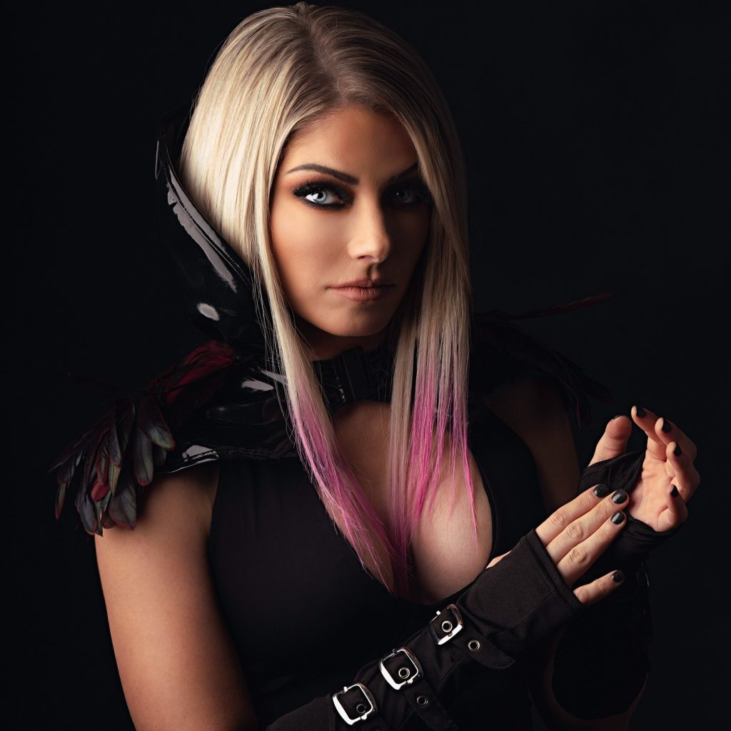 Alexa Bliss WWE Undertaker Photoshoot (4)