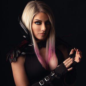 Alexa Bliss WWE Undertaker Photoshoot (4)