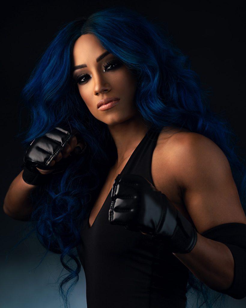 New Sasha Banks Undertaker Photoshoot Pics (1)