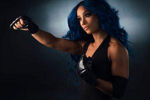 Sasha Banks WWE Undertaker Photoshoot (3)