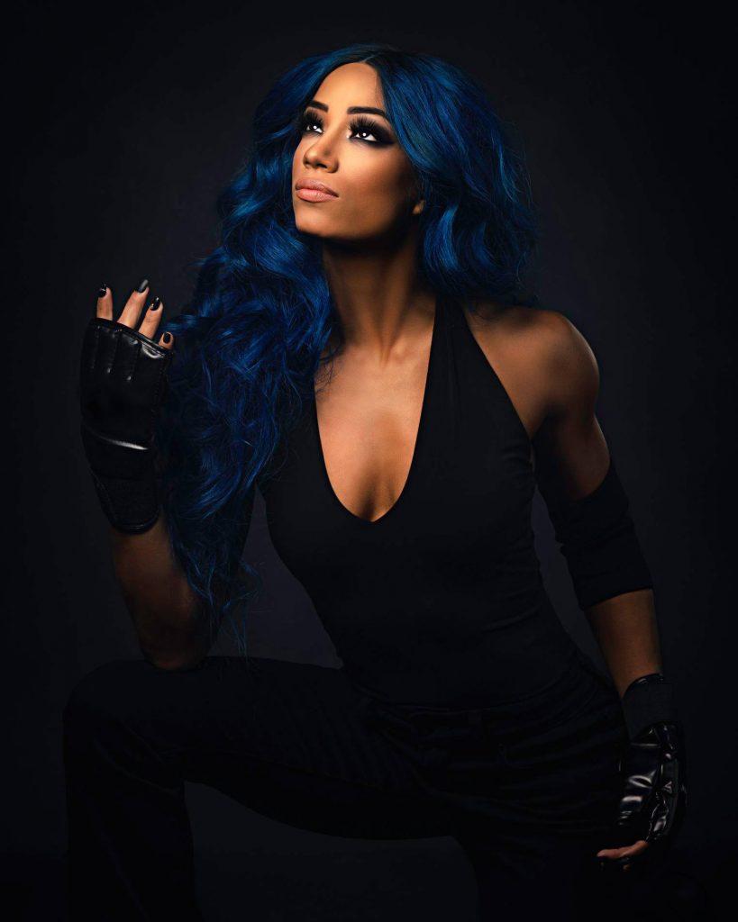 Sasha Banks WWE Undertaker Photoshoot (4)